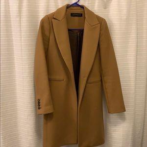 Zara camel coat - xs